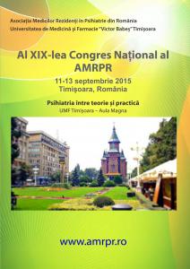 Anunt CONGRES AMRPR 2015